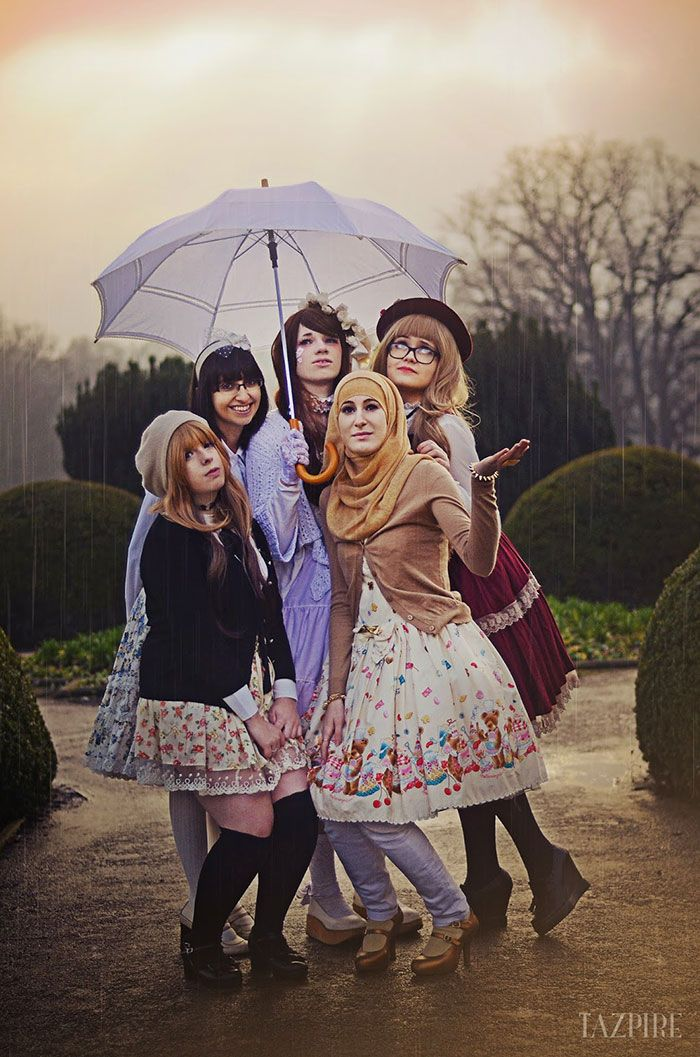 298f71524 Muslim Lolita Fashion Is A New Trend Inspired By Japan 5 | pattern ...