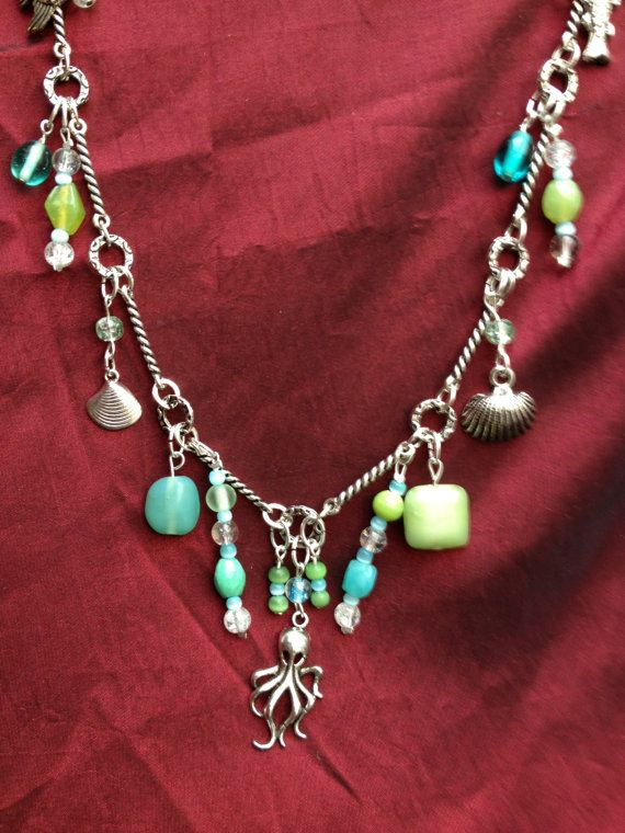 Chained to the Sea Handmade Charm Necklace by ReprievesCorner, $19.99