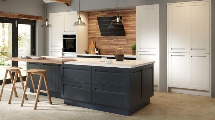 Idée relooking cuisine – design intérieur moderne dans une cuisine ...