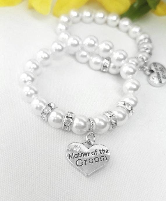 Mother Of The Groom Bracelet With Crystal Ers