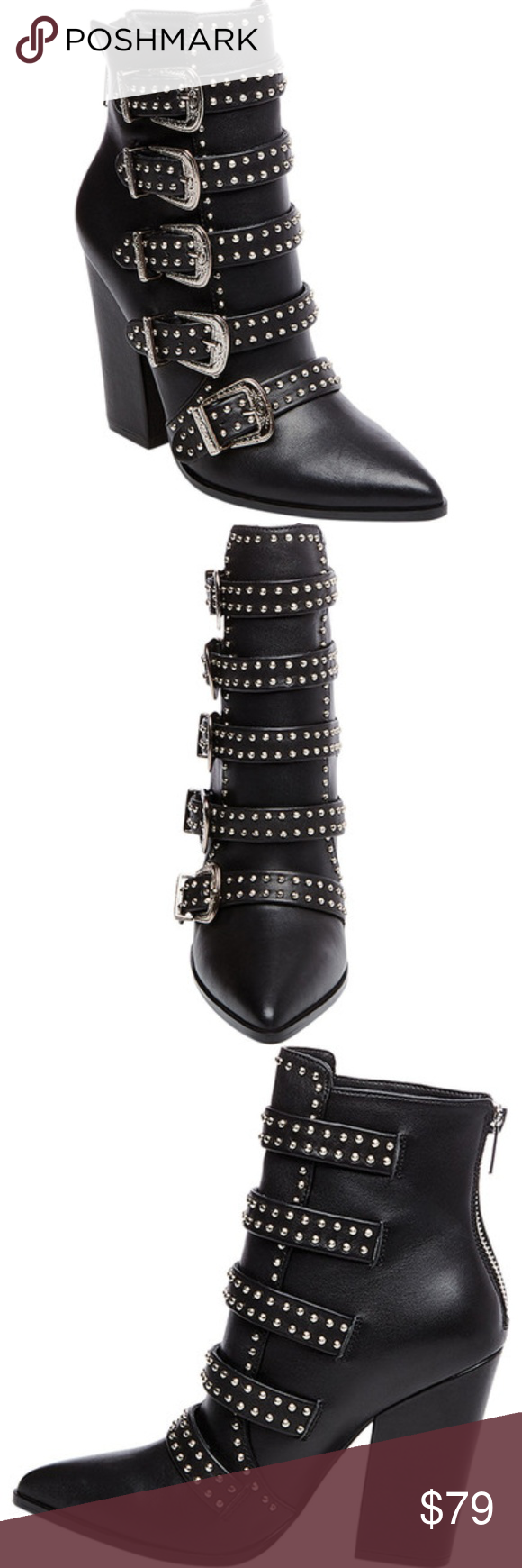 1dee5139918 STEVE MADDEN **Comet Bootie** Size 8 Leave your mark in the Steve ...