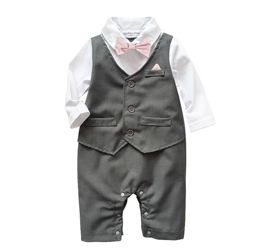 Baby Boy\'s All In One Outfit Suit | Baby Boy | Pinterest | Babies ...