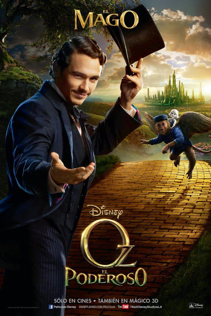 Oz El Poderoso El Mago Movie Posters Disney Live Action Movies Fantasy Movies