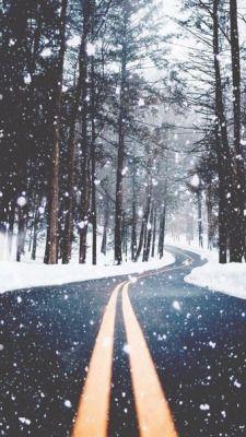 F21travel Forever 21 Travel Winter Snow Wallpaper