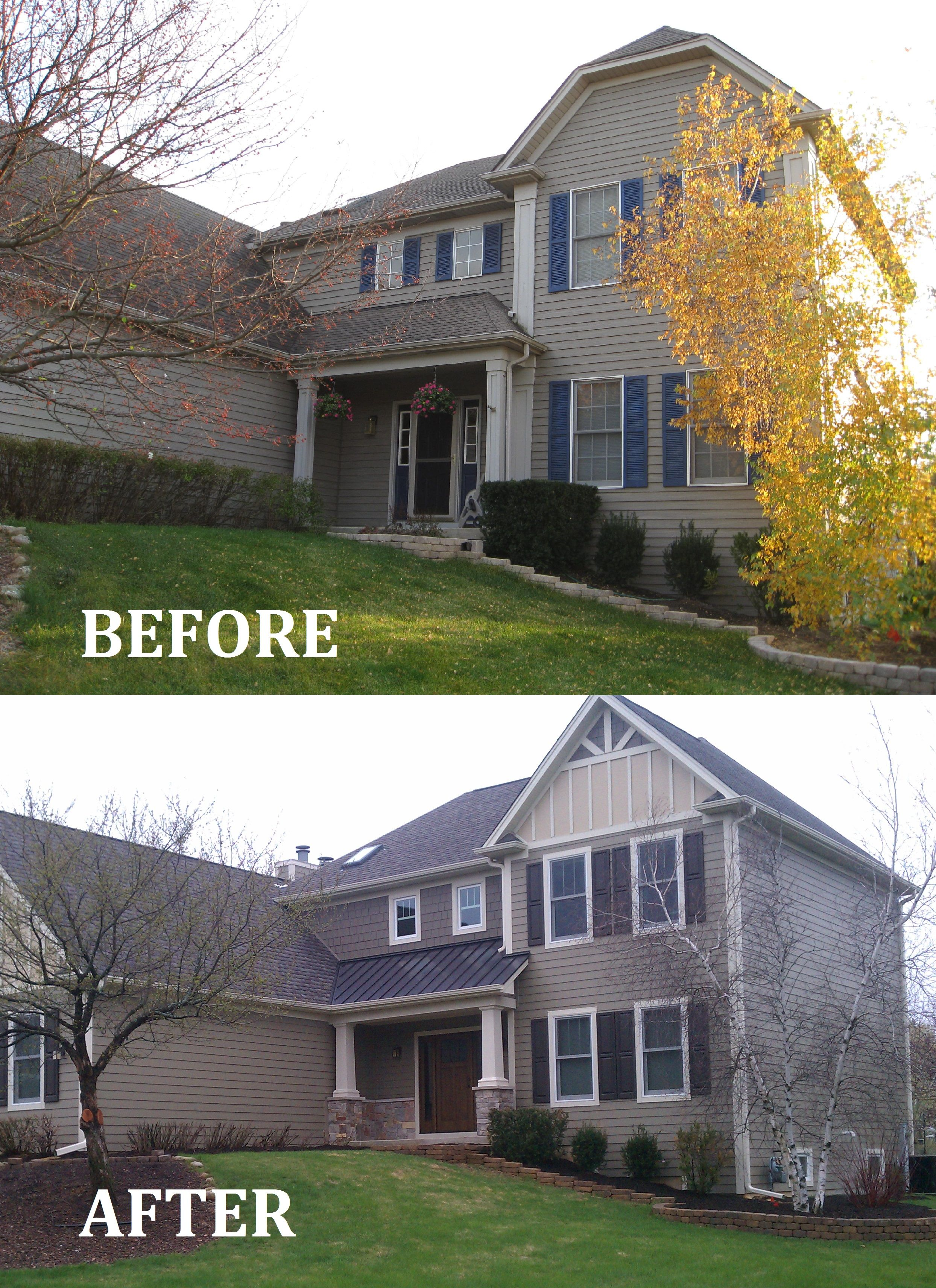 Beautiful Exterior Siding And Deck Remodeling | Interior Kitchen Remodel | Erdmann