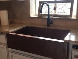 Classic Copper Single Bowl Farmhouse Sink With Images Copper