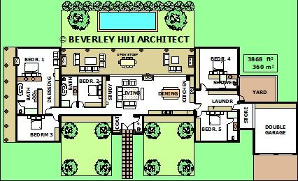 H shaped house plans with pool in the middle pg2 layout H shaped house floor plans