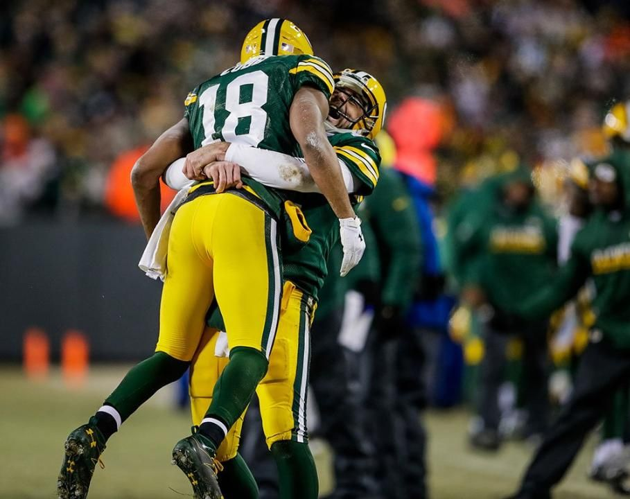 superior quality 1e460 9cb1b Frame-By-Frame: Rodgers to Cobb Hail Mary | My Green Bay ...