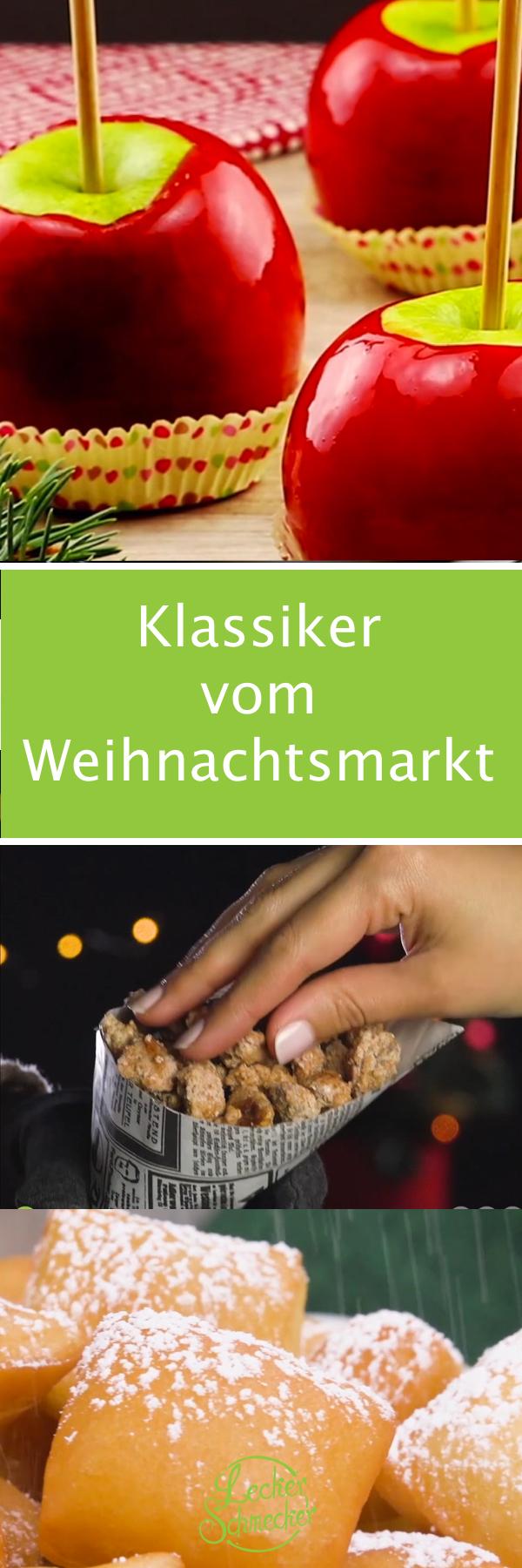 Weihnachtsmarkt L.Rezepte Für 4 Klassiker Vom Weihnachtsmarkt Gebrannte Mandeln