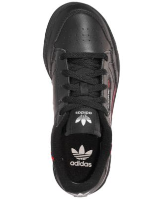 quality design f9f6e d4f08 adidas Little Boys  Originals Continental 80 Casual Sneakers from Finish  Line - Black 2.5