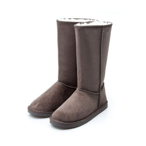 Reneeze Womens Mid Calf Faux Suede Boots, $24 (multiple color options)