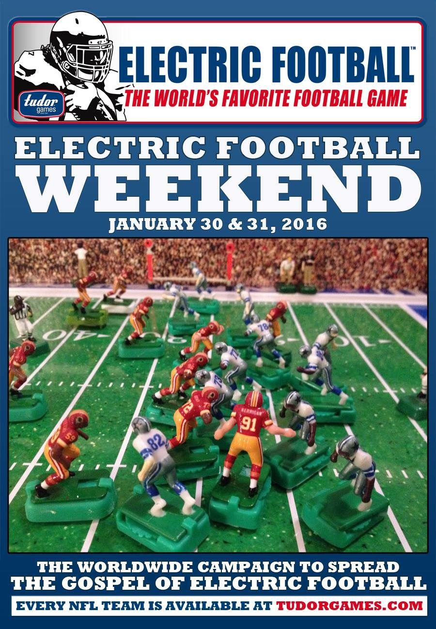 Pin by Evin Moore on Electric Football (Then and Now