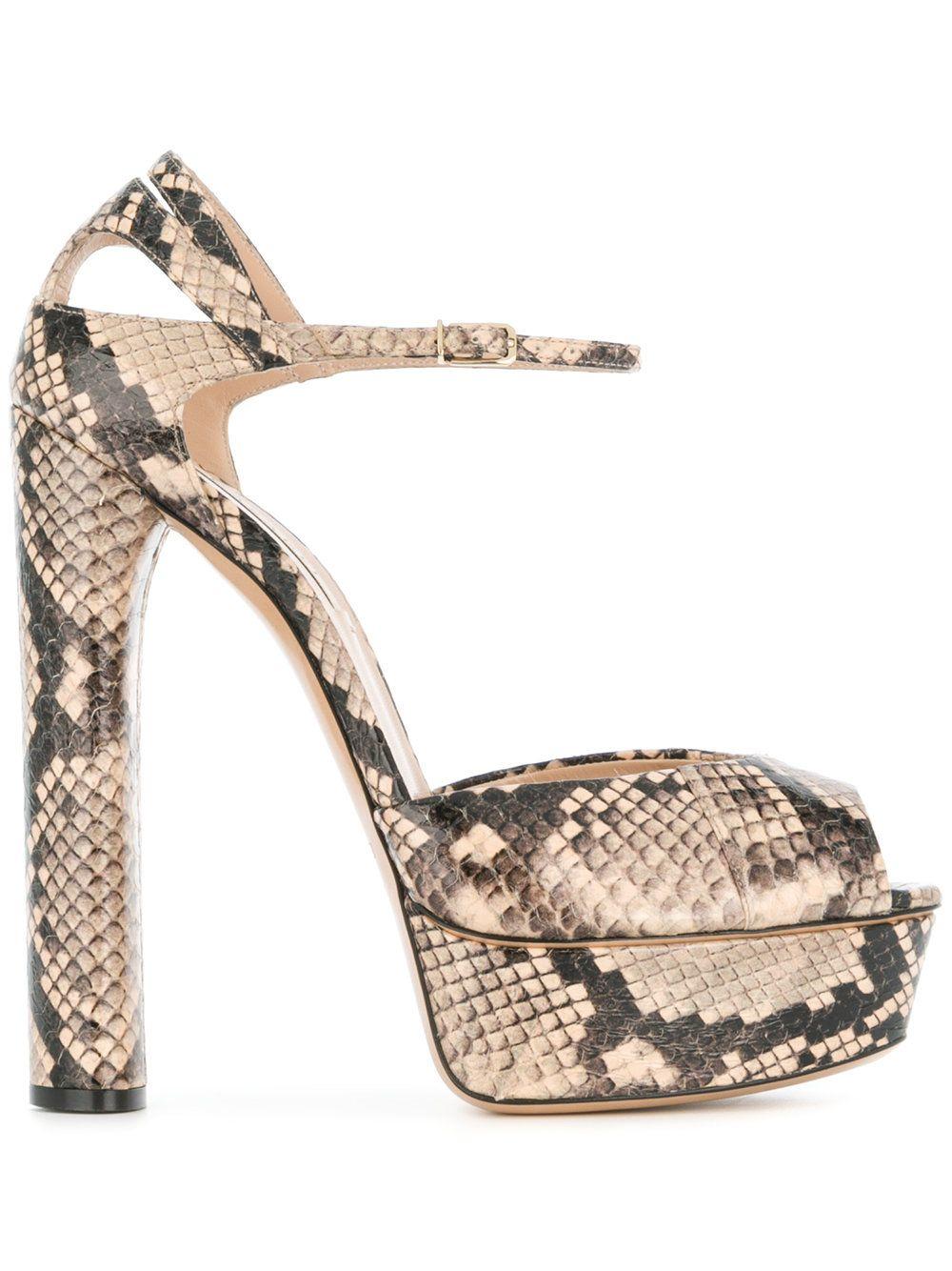 f78730c07e1 Casadei Platform Sandals - Farfetch