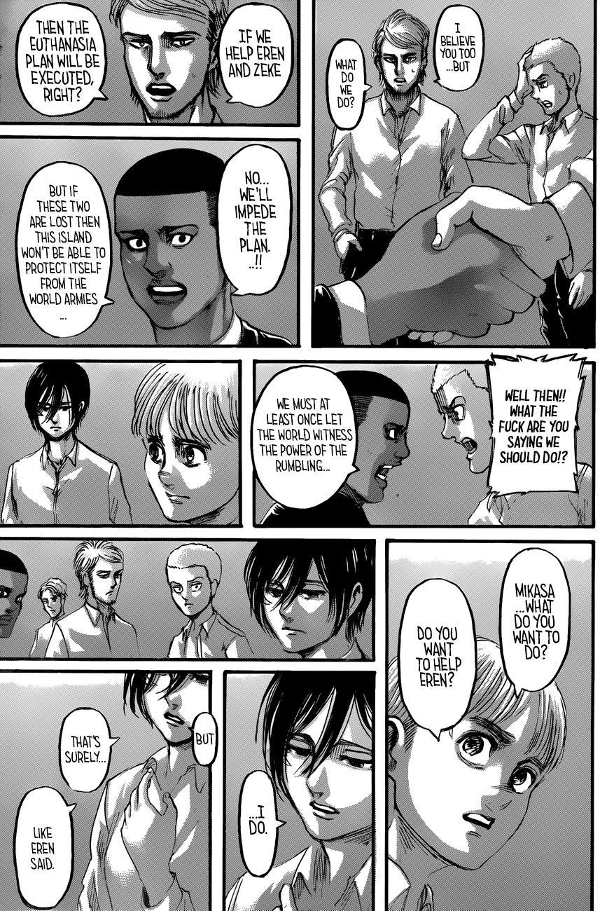 Shingeki no Kyojin - Chapter 118   Read Shingeki no kyojin ...