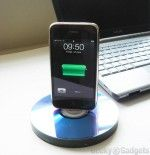 Recycled CD iPhone Dock #recycledcd