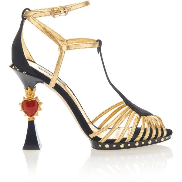 Embroidered Suede SandalsDolce & Gabbana 9PPCfY