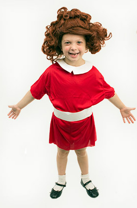 KIDS Homemade little orphan Annie costume - Really Awesome Costumes  sc 1 st  Pinterest & KIDS: Homemade little orphan Annie costume - Really Awesome Costumes ...
