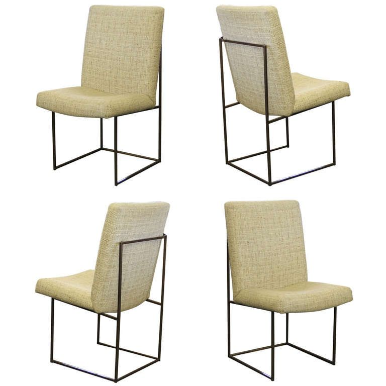 View This Item And Discover Similar Dining Room Chairs For At A Nice Set Of Four Milo Baughman Thayer Coggin