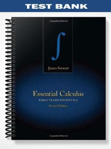 test bank for essential calculus early transcendentals 2nd edition rh pinterest com essential calculus solution manual pdf essential calculus 1st edition solution manual pdf