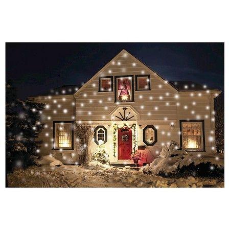 light flurries realistic flurry snowflake light projector target