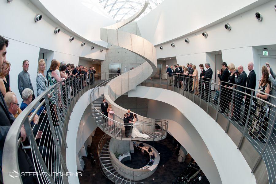 Wedding Ceremony At The Salvador Dali Museum