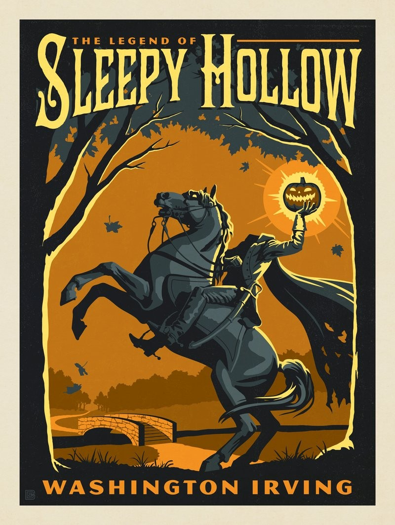 Irving Halloween 2020 The Legend of Sleepy Hollow: Washington Irving | Anderson Design