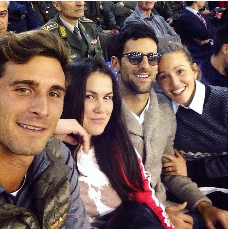 Marko, Novak and Jelena in Belegrade · Jelena DjokovicSerbianMental ...