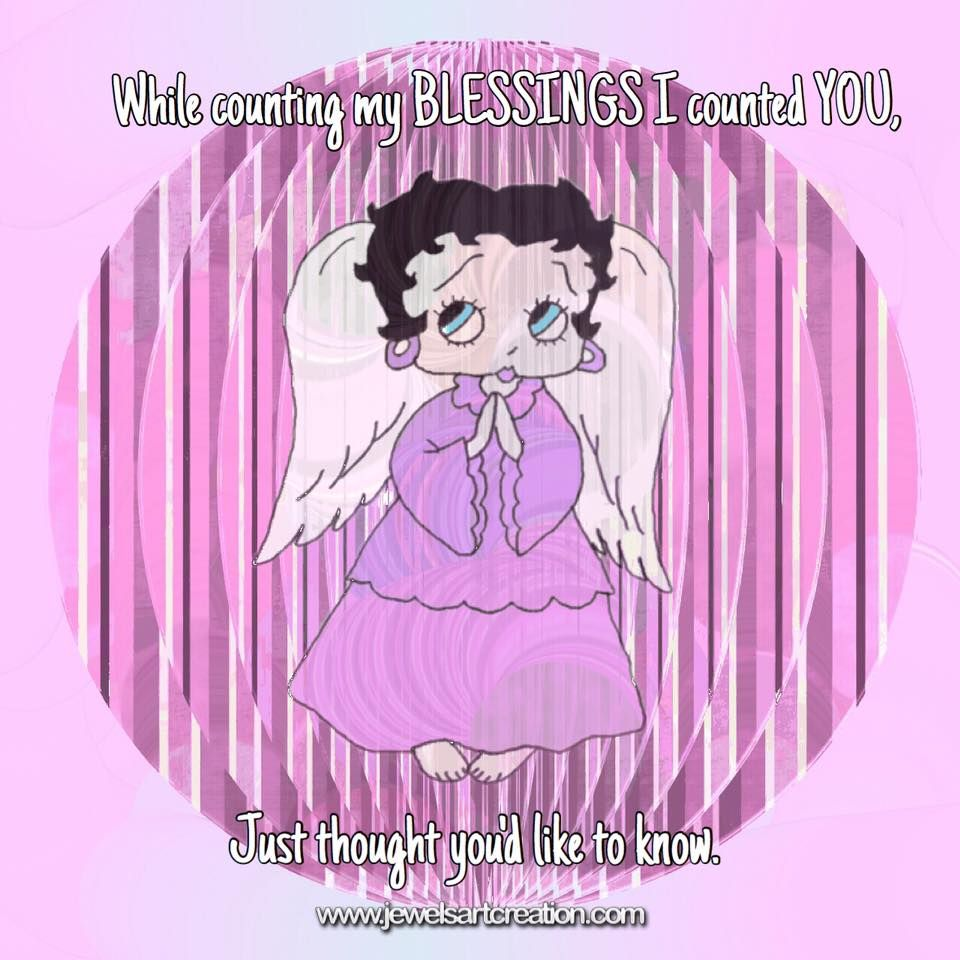 Betty Boop comments, counting blessings, blessing quotes ...