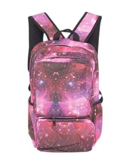 Pink Galaxy Canvas Backpack | Bags | Pinterest | Taulut,Laukut ja ...