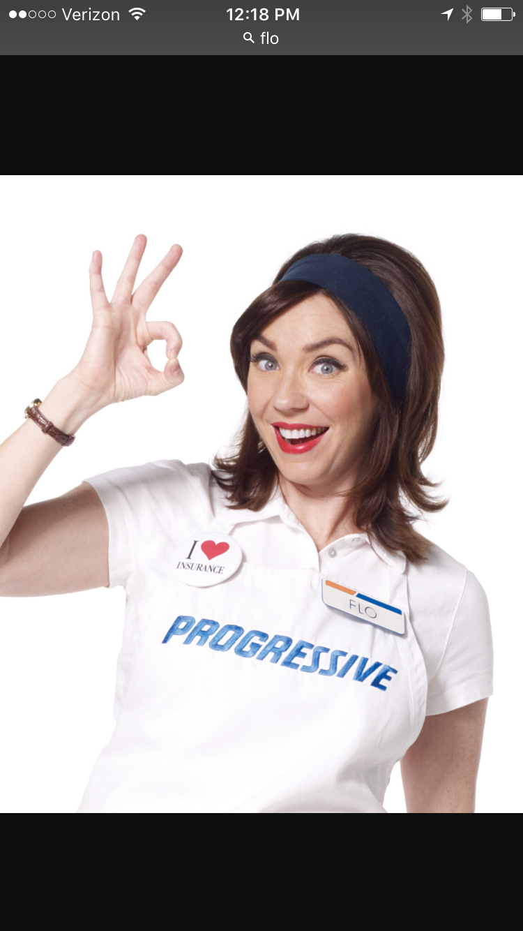 Flo! That hair!! Progressive girl, Progressive insurance