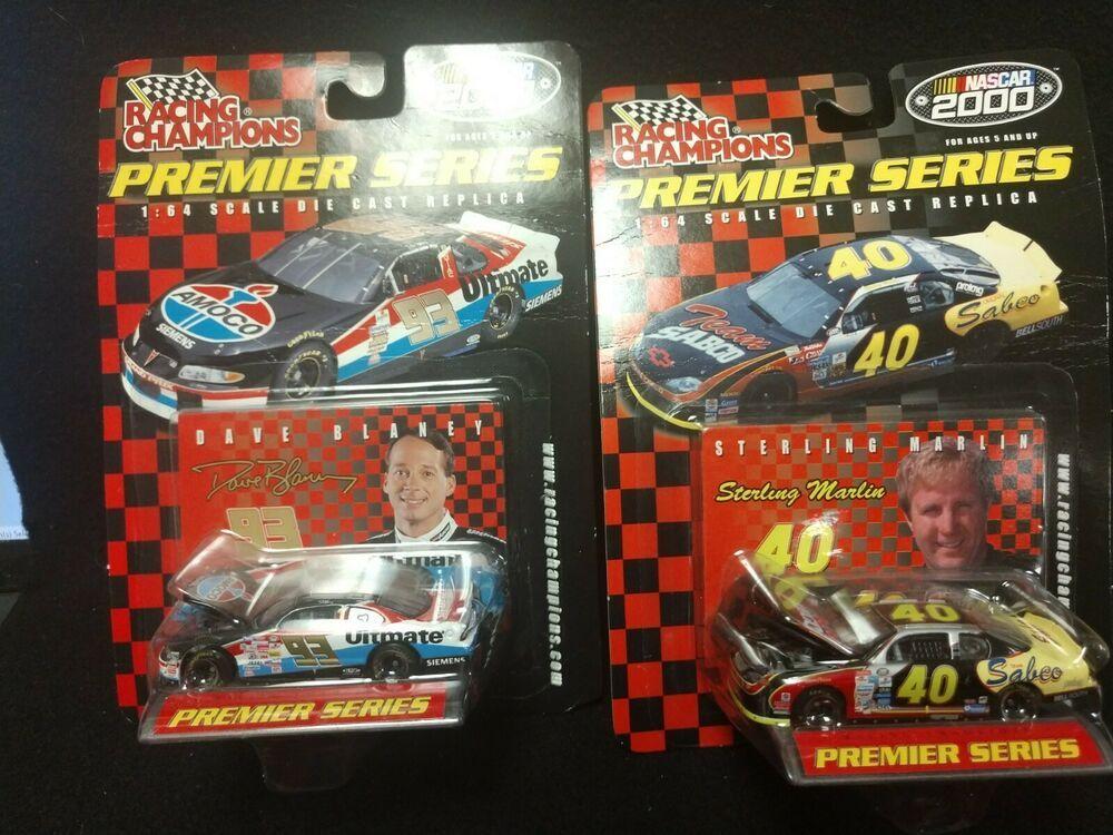 Sterling Marlin Dave Blaney Premier Series 1/64 Scale NIB
