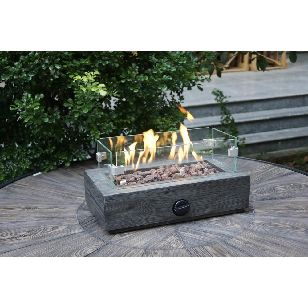 10 6 In Outdoor Propane Gas Tabletop Firepit Fp11053 With Images