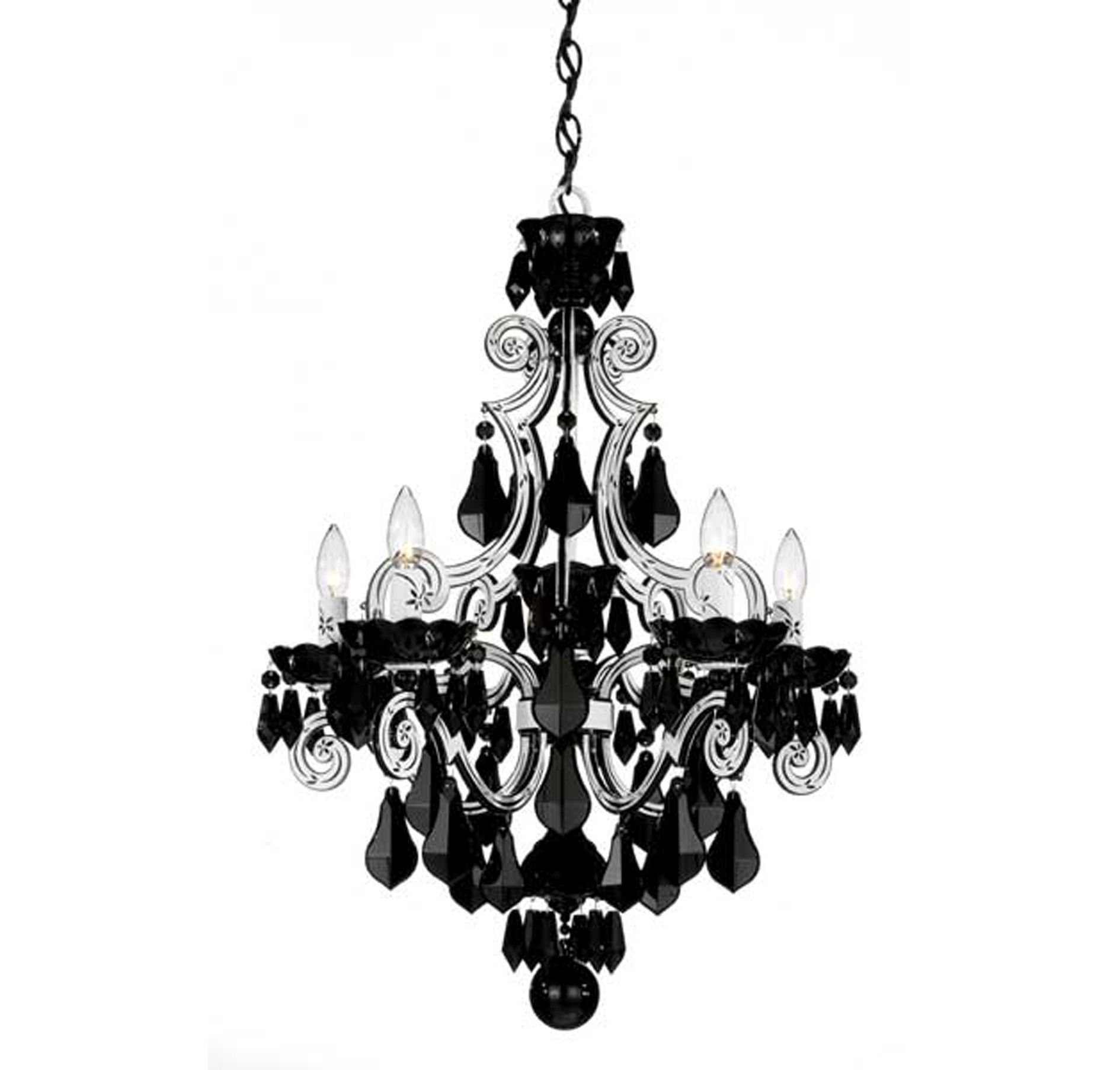Kind of loving the black crystals this is for my future walk in kind of loving the black crystals this is for my future walk in white chandelierchandelier aloadofball Images