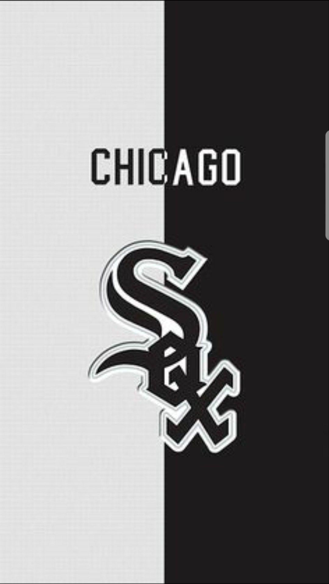 Pin By Archie Douglas On Sportz Wallpaperz Chicago White Sox White Sox Logo Chicago