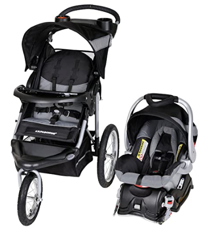 Jogger Travel System, Millennium White in 2020 Car seat