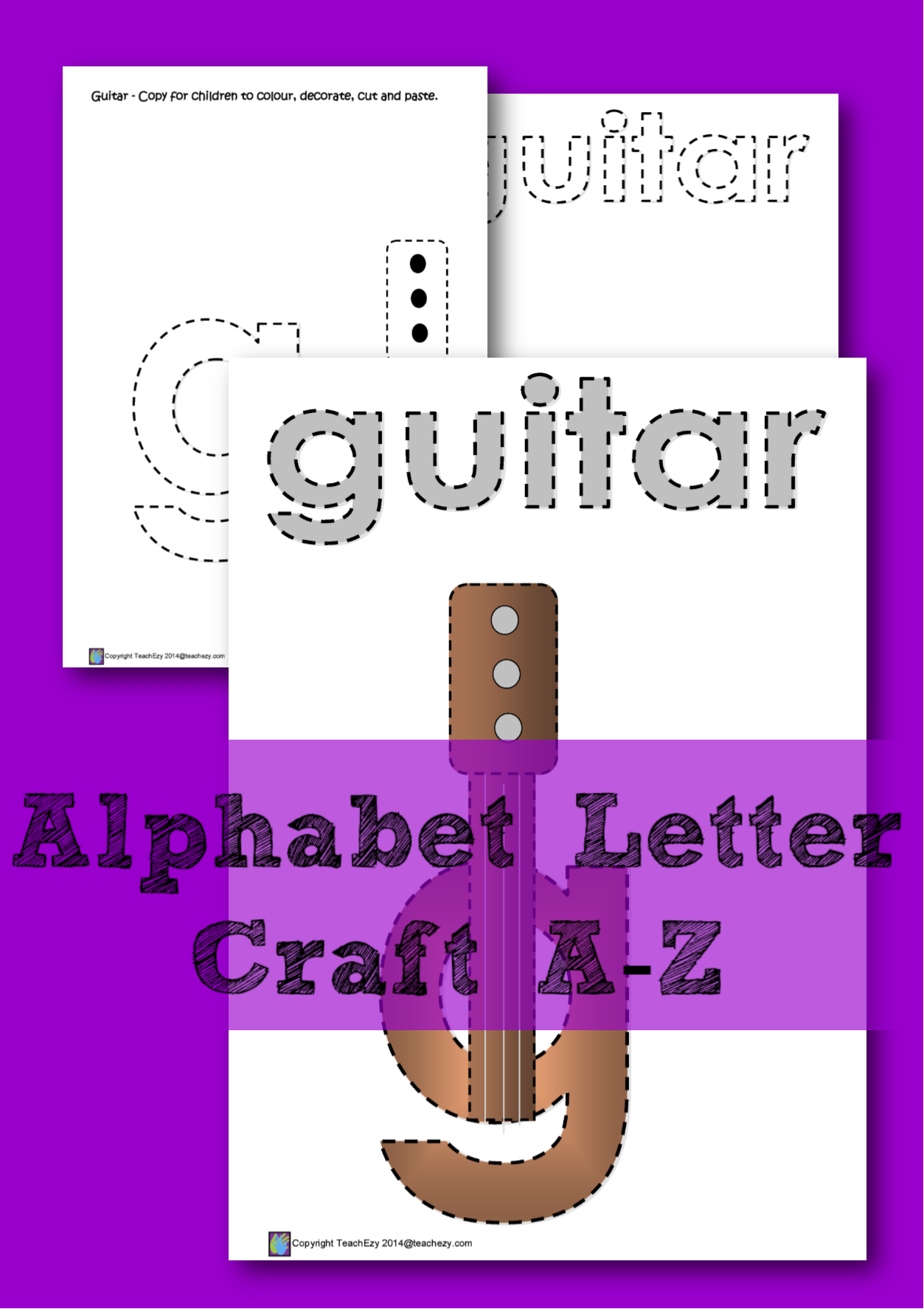 learning the letter g a color cut and paste activity for every letter of the alphabet each letter has a printout ready for each student