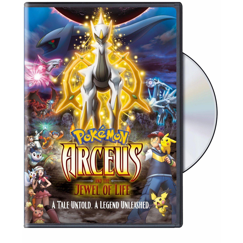 Amazon Com Pokemon Arceus The Jewel Of Life Pokemon Movie 12