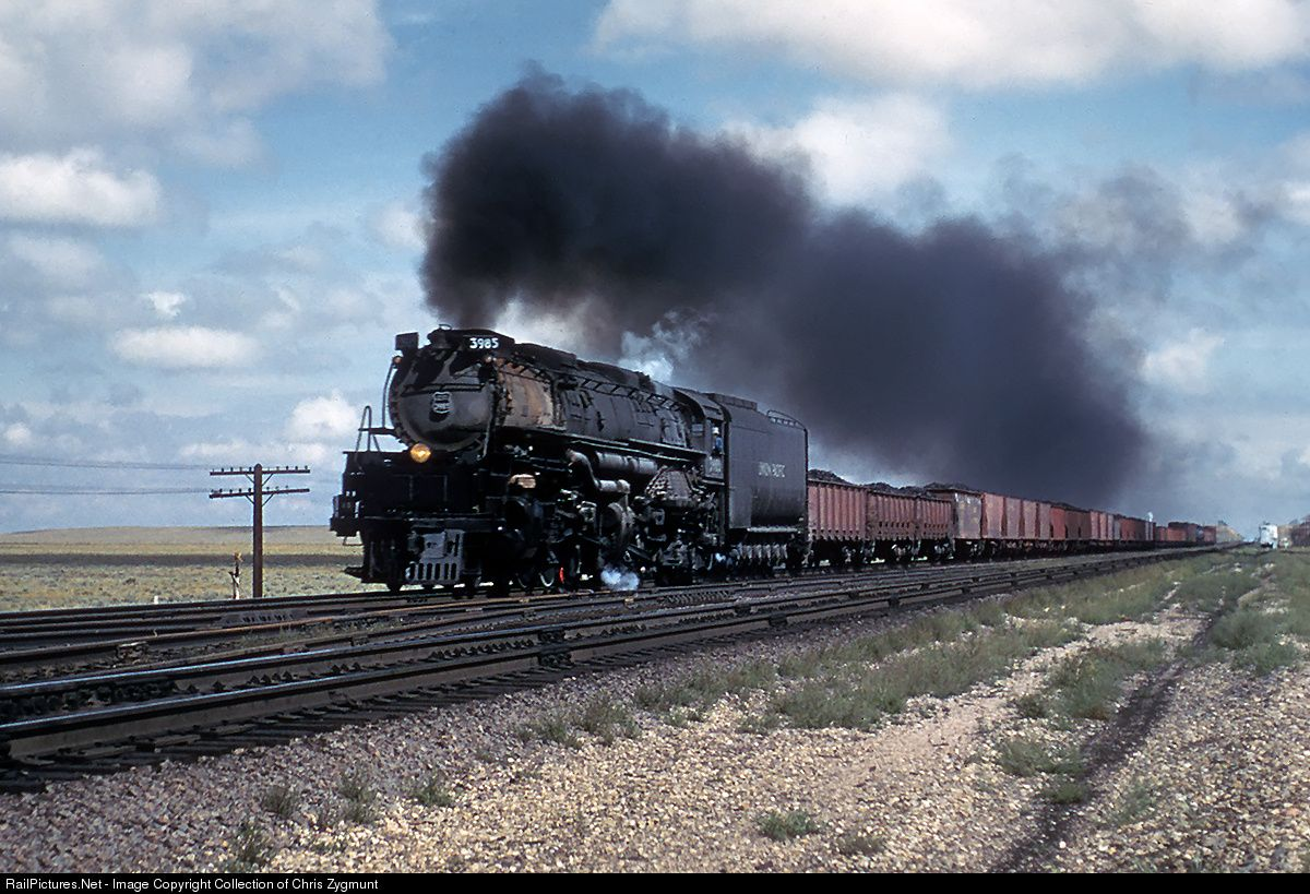 RailPictures.Net Photo: UP 3985 Union Pacific Steam 4-6-6-4 at Archer, Wyoming by Collection of Chris Zygmunt