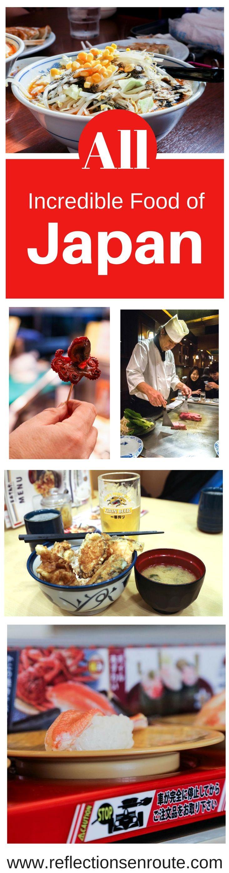 What To Eat In Japan Food Guide Japan Food Food Food Guide