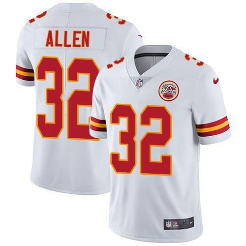 509d739cc Nike Chiefs  32 Marcus Allen White Men s Stitched NFL Vapor Untouchable  Limited Jersey