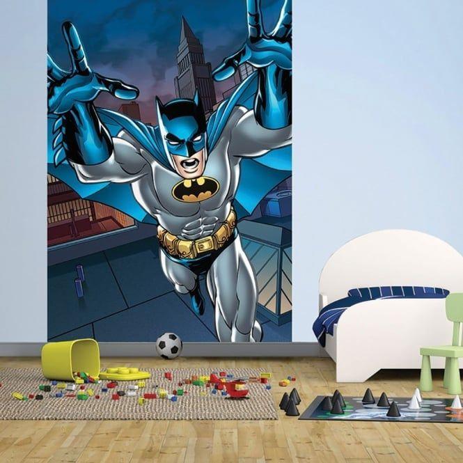 NEW 1 WALL WALLPAPER MURAL SUPERMAN BATMAN JUSTICE LEAGUE COMIC 1.58M X 2.32M