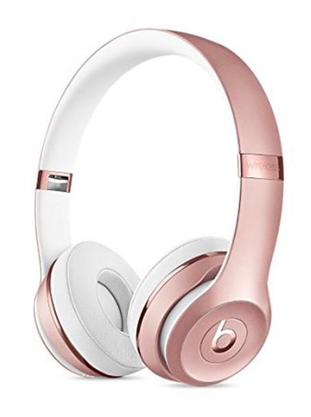 Beats Solo3 Wireless On-Ear Headphone - Rose Gold Wireless Beats Headphones 6068112923