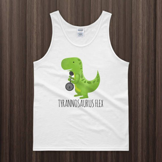 If Youre Happy and You Know It Tank Top T-Rex Fail Funny Dino Sleeveless