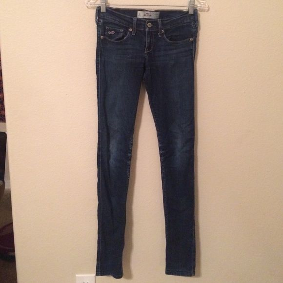 Hollister skinny denim jeans size 3L Hollister skinny denim jeans size 3L Hollister Jeans Skinny