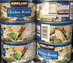 Kirkland Signature Premium Chunk Chicken Breast Recipes Yummy Recipies Chicken Recipes Can