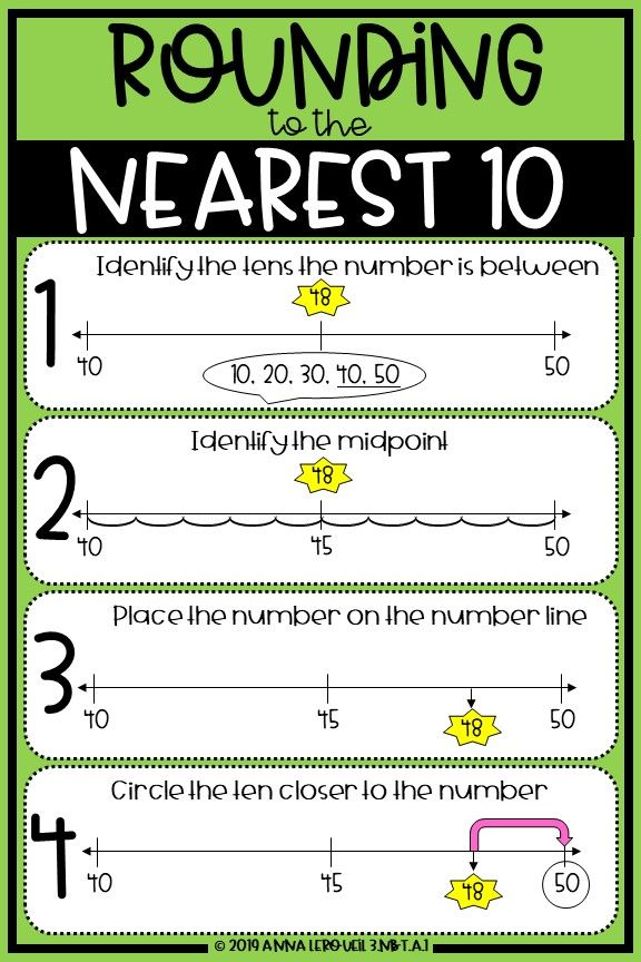 3rd Grade Rounding to the Nearest 10 Worksheets & Answer ...
