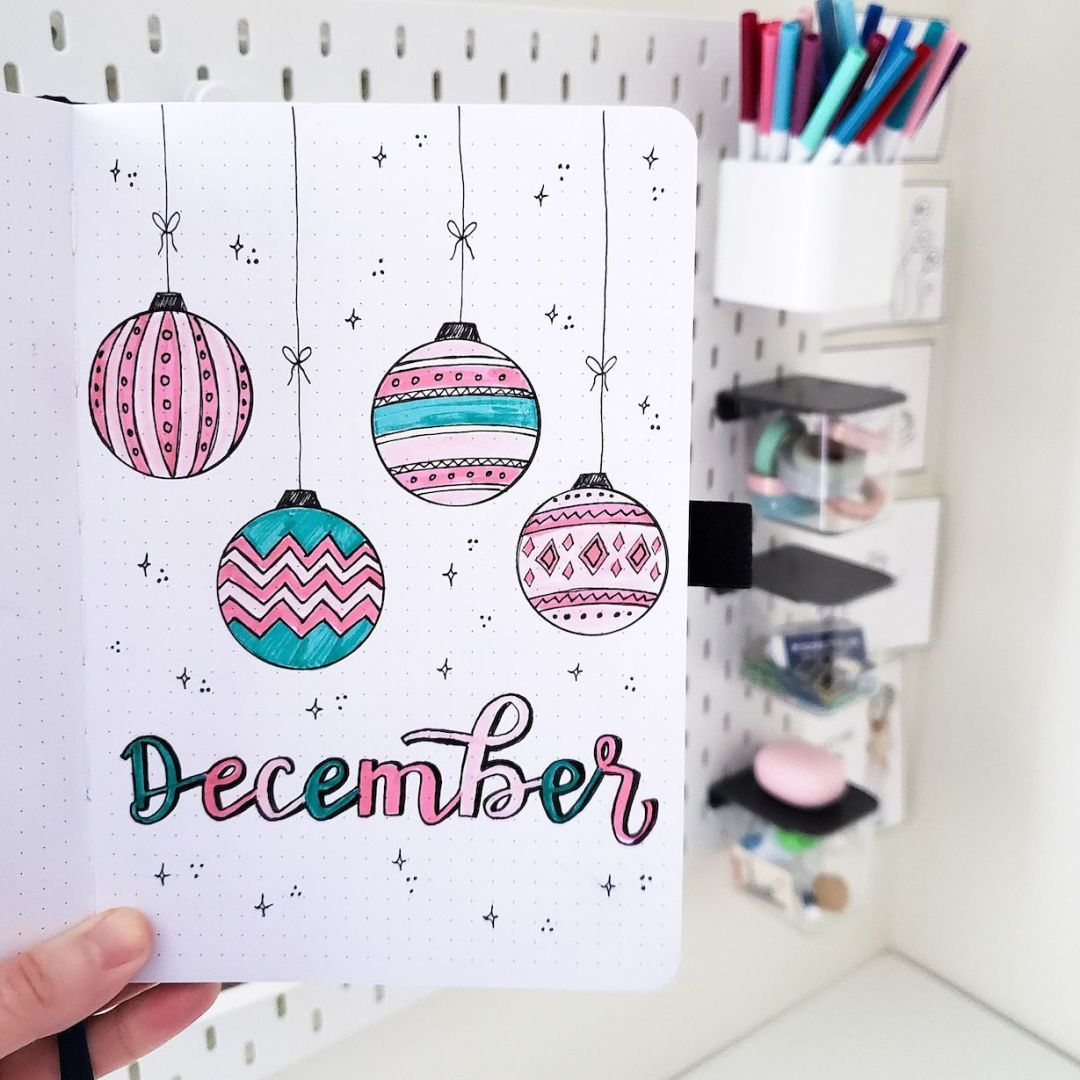 Plan With Me: My December 2019 Bullet Journal Setup