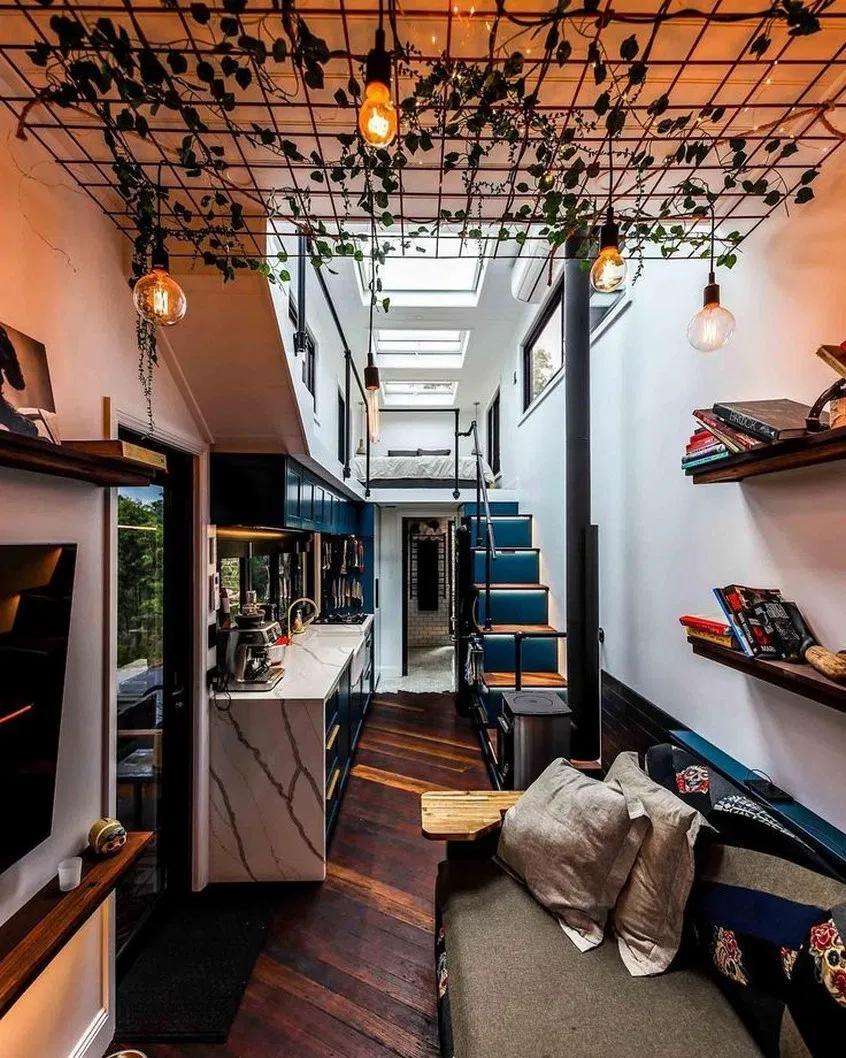 23+ wonderful tiny house design ideas 12 #tinyhouse #house #interior  | designirulz.com #tinyhousebathroom