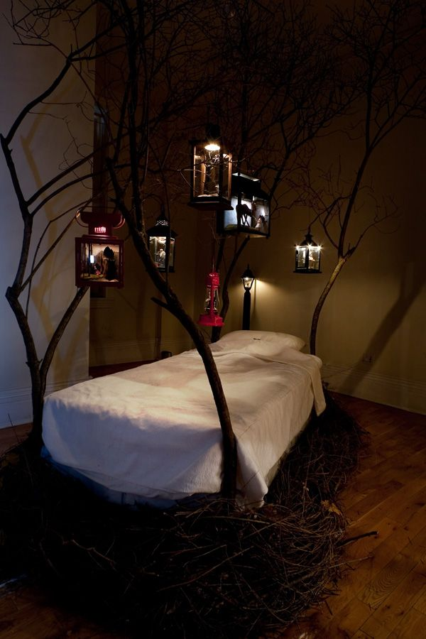 Dreams Floating Above My Bed 8 Pics Tree Bed Bed Design Decor
