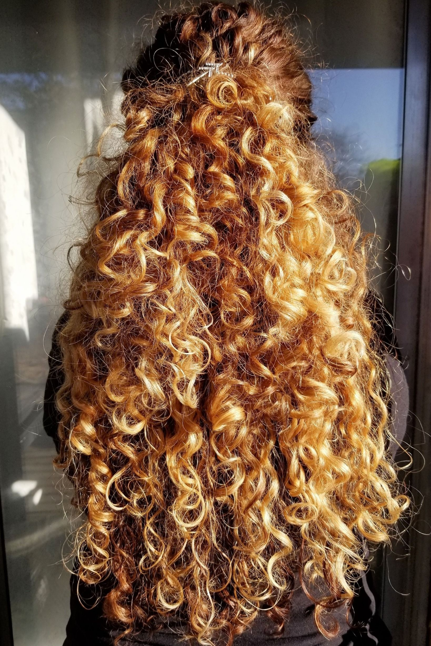 Highlights Half Up Half Down Wavy Hair Gorgeoushair Hair Styles Wedding Hairstyles For Long Hair Hairstyle